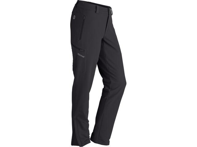 Marmot Scree Pantalones Tamaño Corto Mujer, black